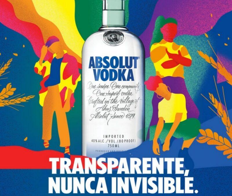 Transparente, nunca invisible: la nueva campaña de Absolut para construir un mundo más diverso
