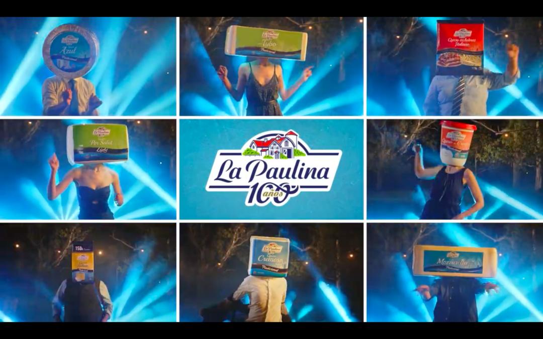 La Paulina festeja 100 años de pensar todo el tiempo en queso