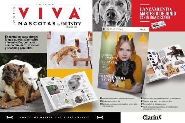 """Infinity y Grupo SC presentaron """"VIVA Especial Mascotas"""" junto a Clarín"""